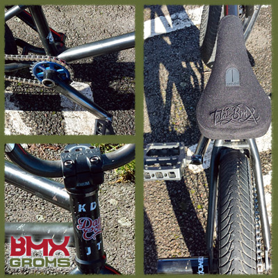 JT Cunningham 18 inch BMX Close Ups
