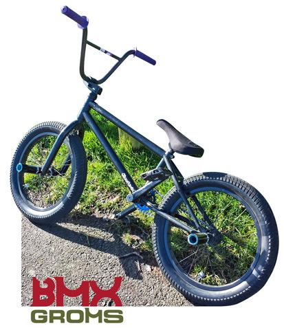 JT Cunningham 18 inch custom SandM BMX Bike