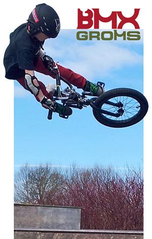 JT Cunningham 10 year old BMX Rider