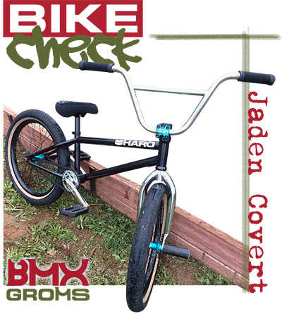 Jaden Covert BMX Haro Bike Check