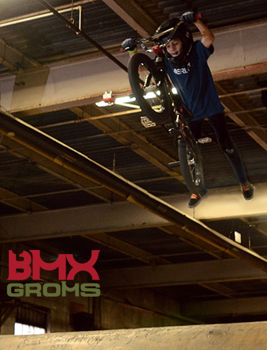 BMXER Brady Baker BMX Superman Air