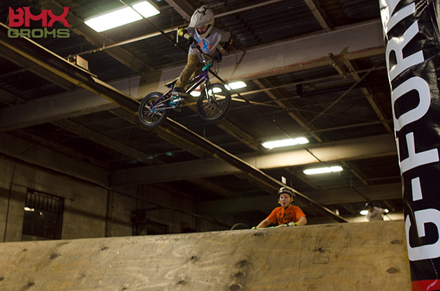 Nathan Halahan with a super stylish whip at the wheelmill next generation youth jam.