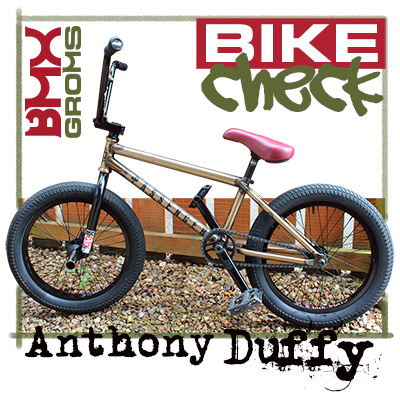 Anthony Duffy bmx 18 inch bsd passenger Bike Check