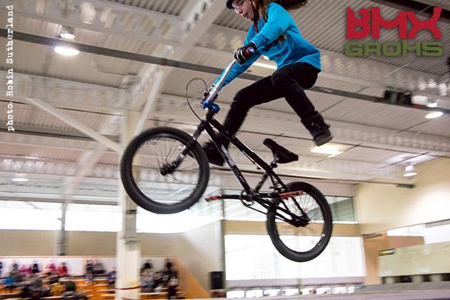 Lili girl bmx rider no footer bmxer
