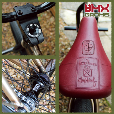 Anthony Duffy bmx 18 inch bsd passenger Bike Check Details