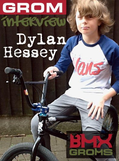Young BMX Rider Dylan Hessey BMX Groms Interview