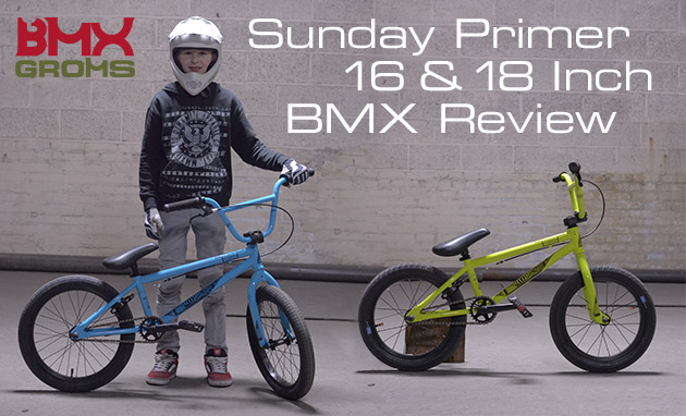 Sunday Primer 16 and 18 inch BMX Bike Review