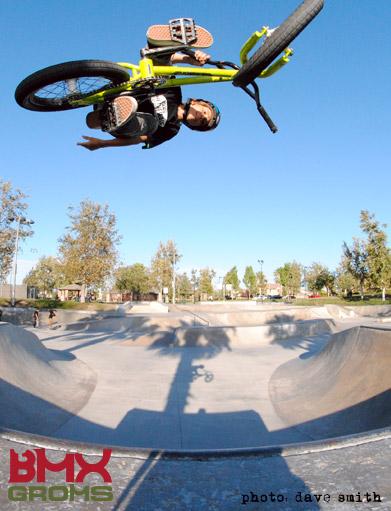 11 year old BMX Rider Kaden Stone