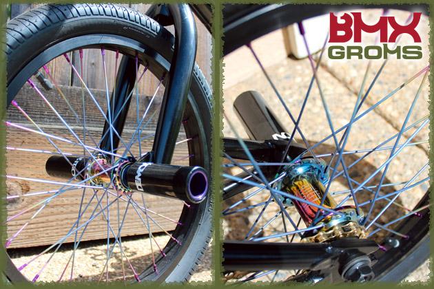 Ryan Slusher's 18 inch Sunday Radocaster BMX Bike Detail