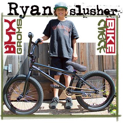 Ryan Slusher's 18 inch bmx bike check Sunday Radocaster