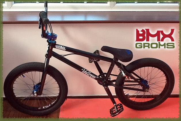 10 year old Dylan Hessey's 18 inch Voltron BMX Bike