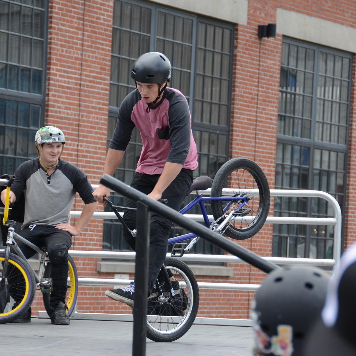 Hang Five at BMX Dew Tour Am Series in Toronto