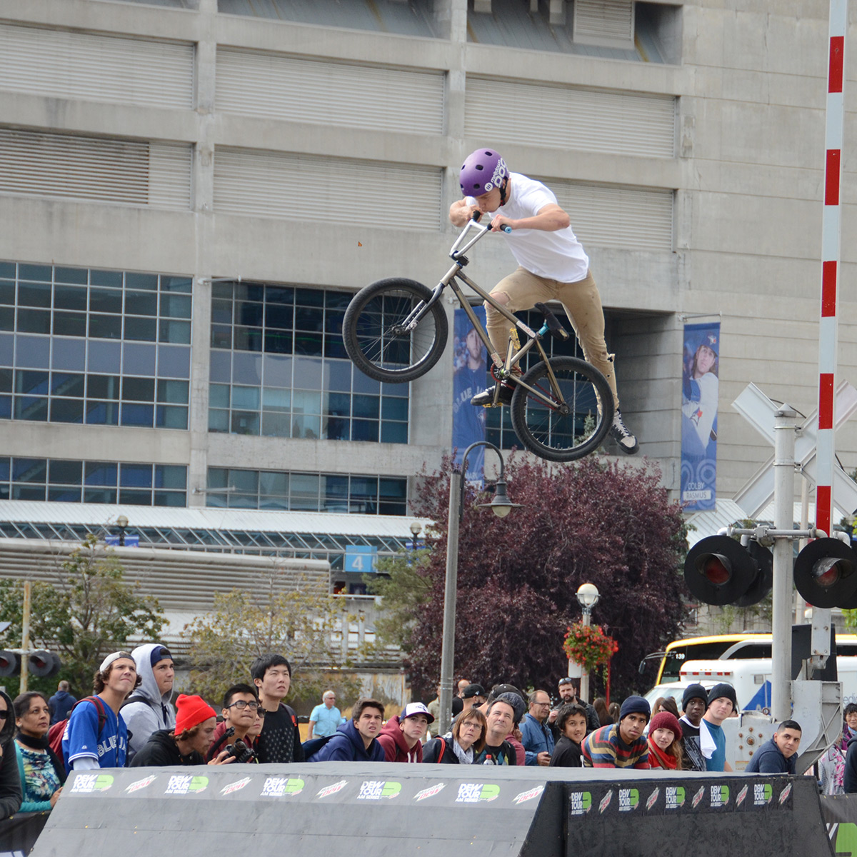 Nac Nac at BMX Dew Tour Am Series in Toronto