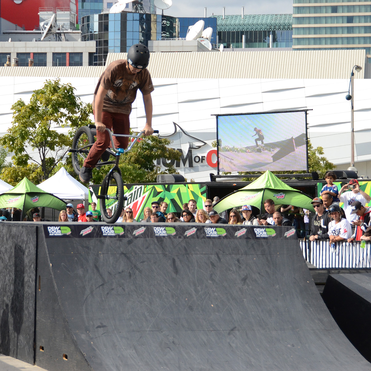 Nose Manual at BMX Dew Tour Am Series in Toronto