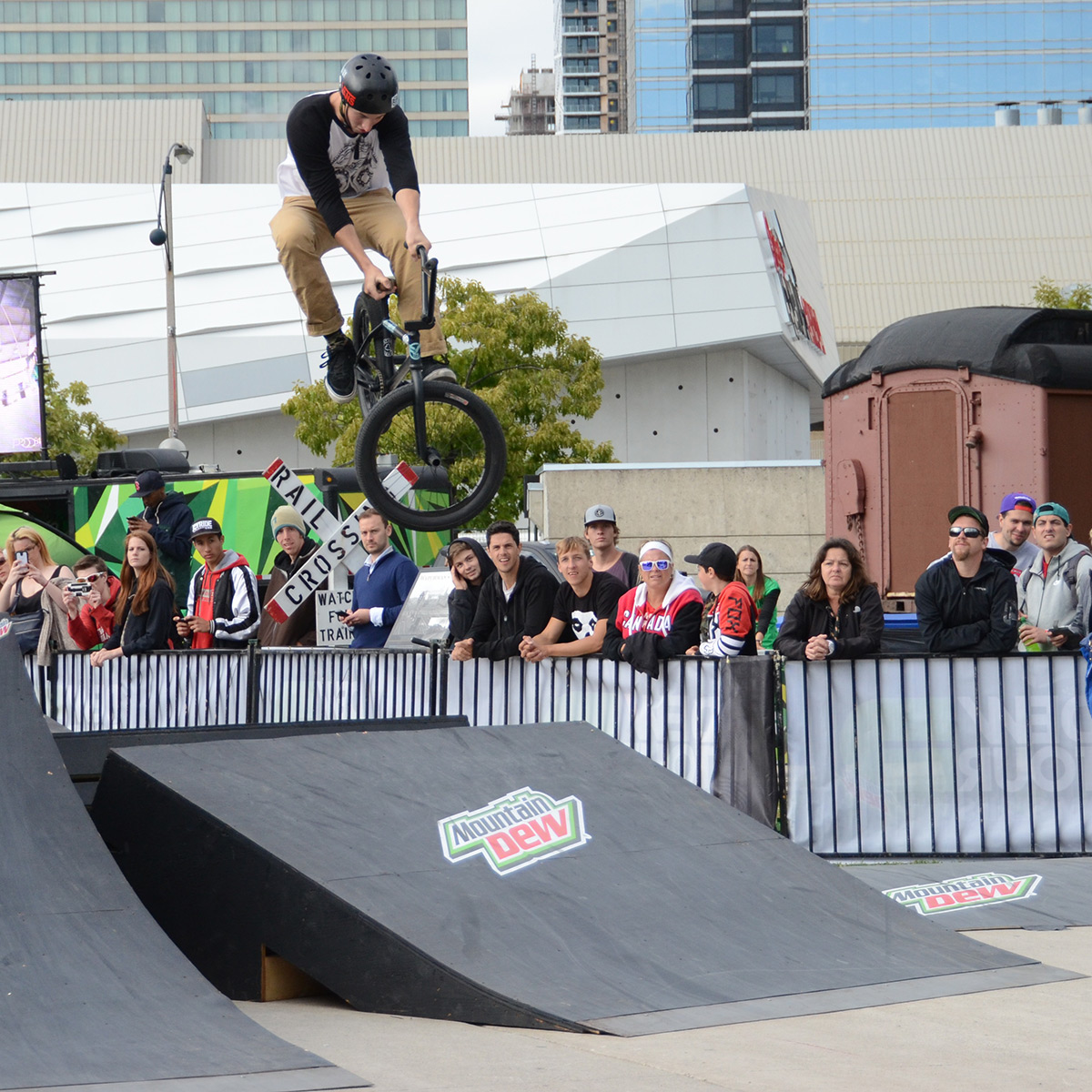 Tweaked T-Bog at BMX Dew Tour Am Series in Toronto