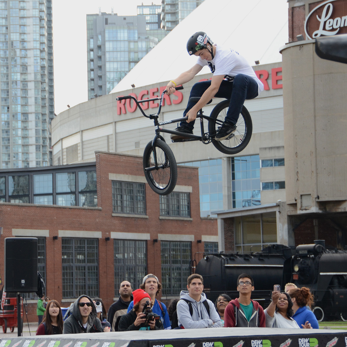 Frame Tbog at BMX Dew Tour Am Series in Toronto