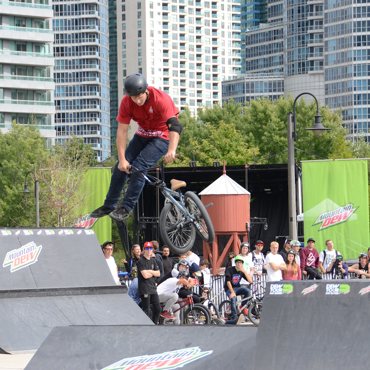 Whip at Dew Tour Am Series in Toronto