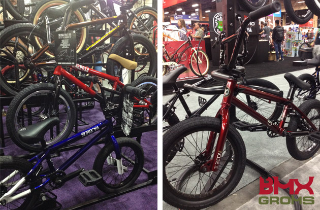 "16 and 18"" Subrosa and 18"" Kink BMX at Interbike"
