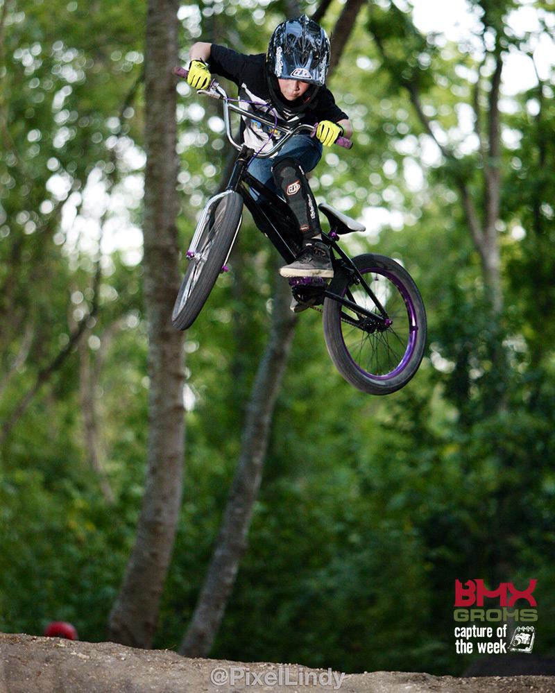 Landry Wycough Bmx Groms Capture of the Week