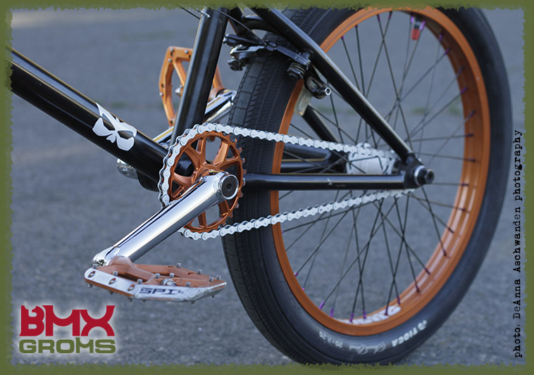 BMX Groms Bike Check with Bryce Tryon - rear wheel.