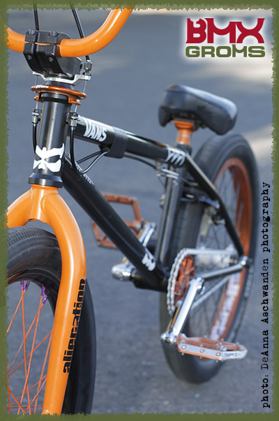 BMX Groms Bike Check with Bryce Tryon Front View