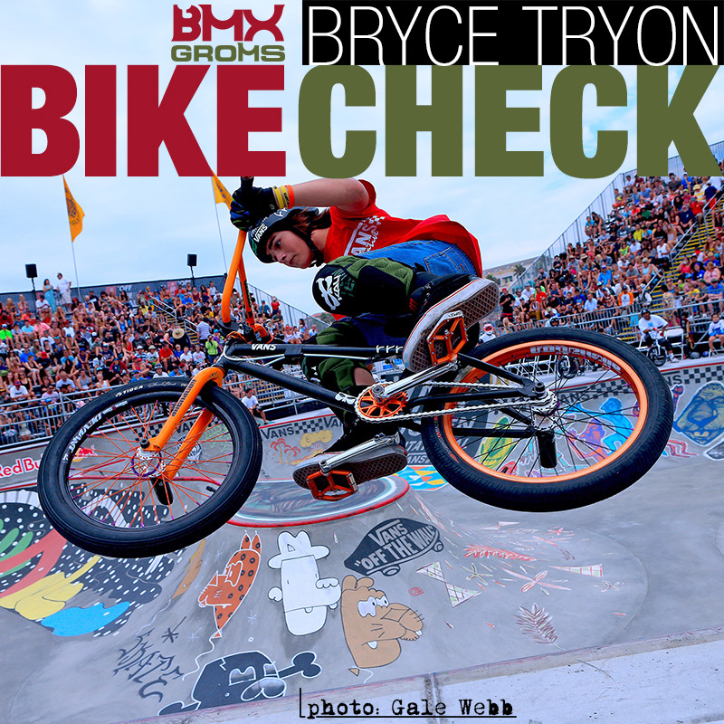 BMX Groms Bike Check with Bryce Tryon