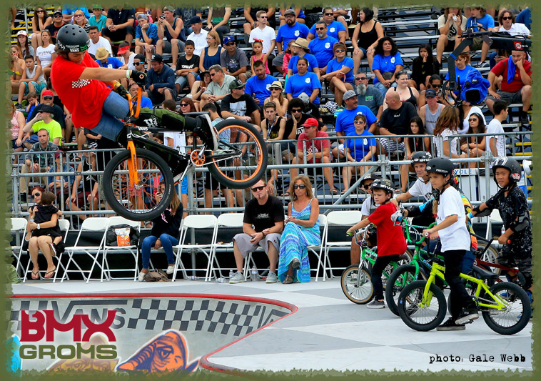 BMX Groms Bike Check with Bryce Tryon. Bryce Lookback at US Vans Open