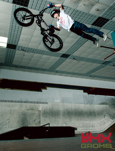 Marcus Christopher BMX Groms Interview Superman