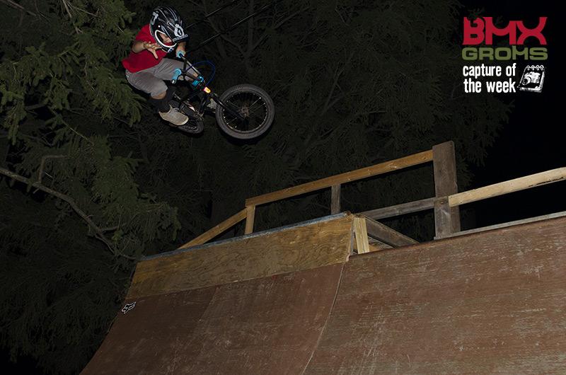 Nahum BMX Capture of the Week on BMX Groms