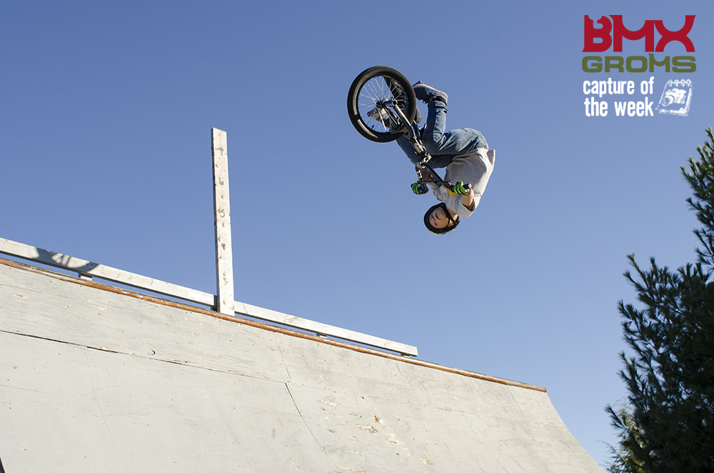 Marcus Christopher 11 year old BMX rider, BMX Groms Capture of the Week