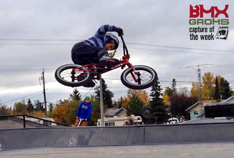 Evan Morgan 9 year old, BMXer, BMX Capture of the Week