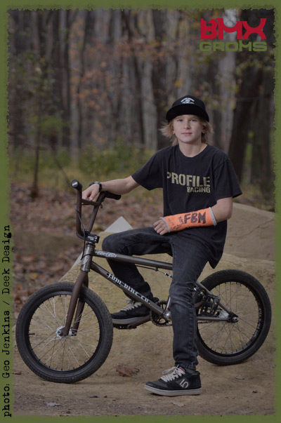 Lukas Halahan, 18 inch BMX Bike Checks