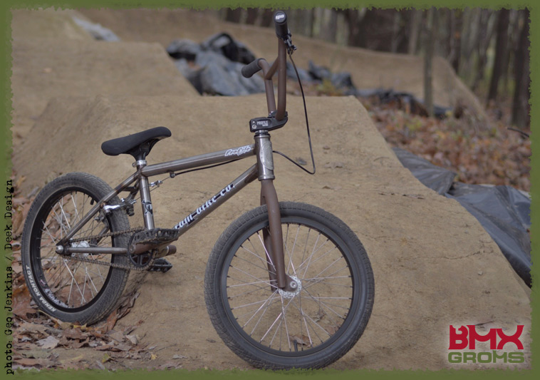 Lukas Halahan 18 inch FBM custom BMX Bike Check on BMX Groms