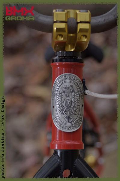 Nathan Halahan 16 inch custom FBM BMX Bike Check