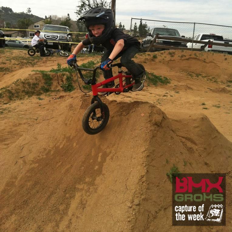 Gavin Rodriguez 6 year old BMX Rider