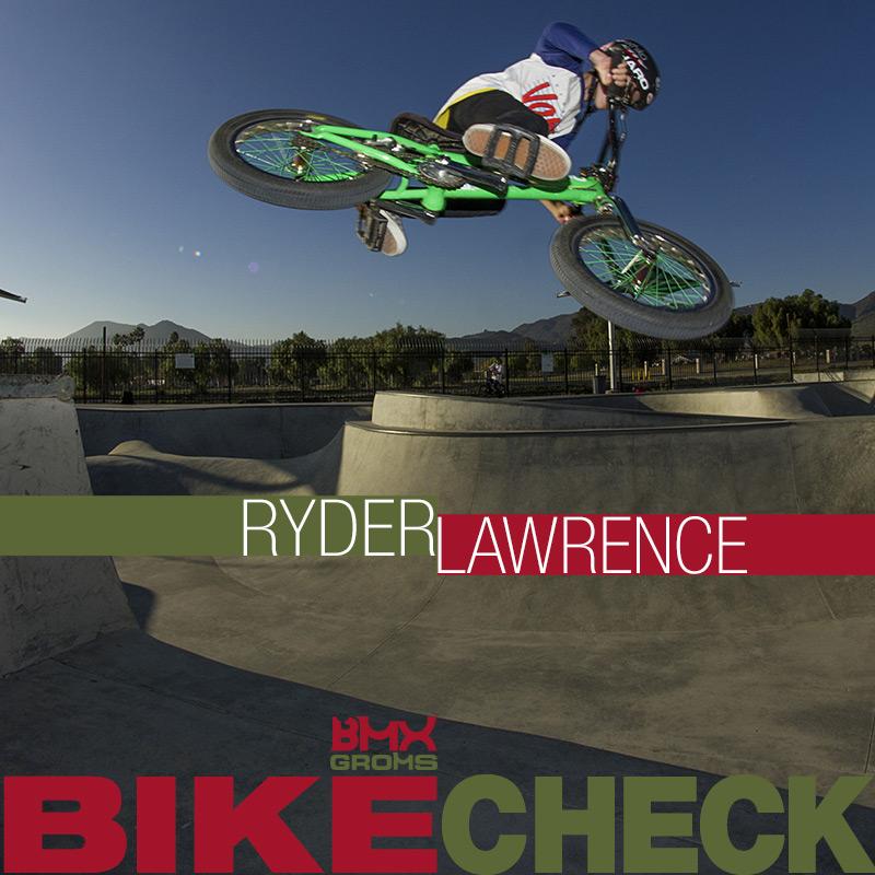 Ryder Lawrence BMX Groms 16 inch Bike Check