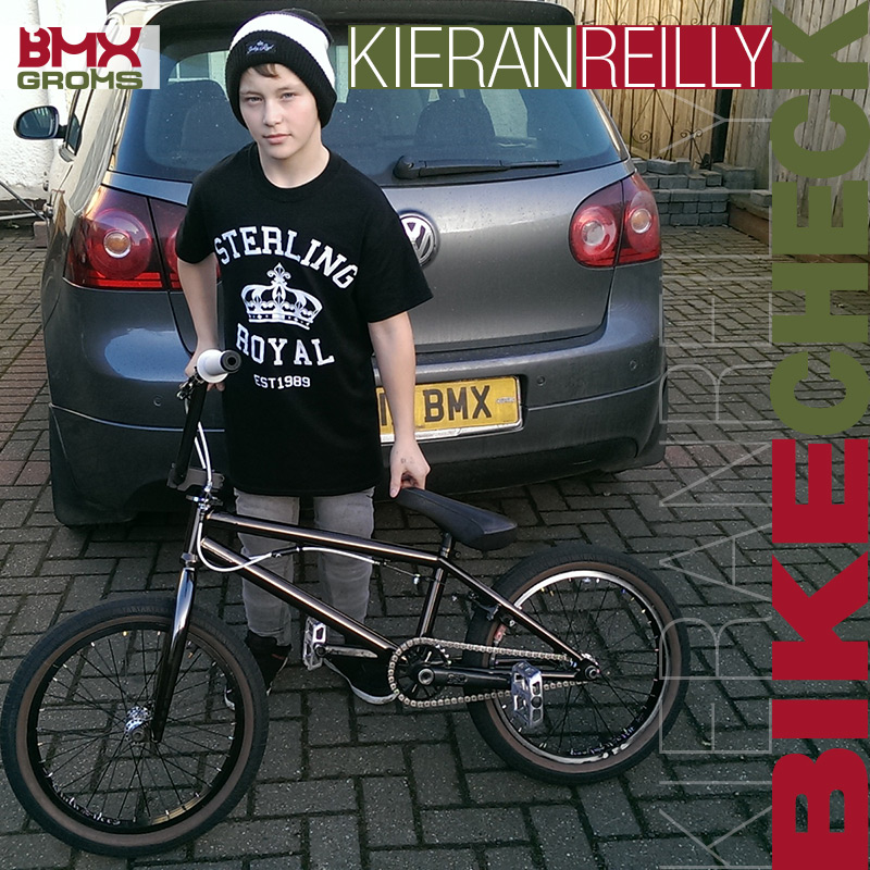 Kieran Reilly 18 inch BMX Bike Check
