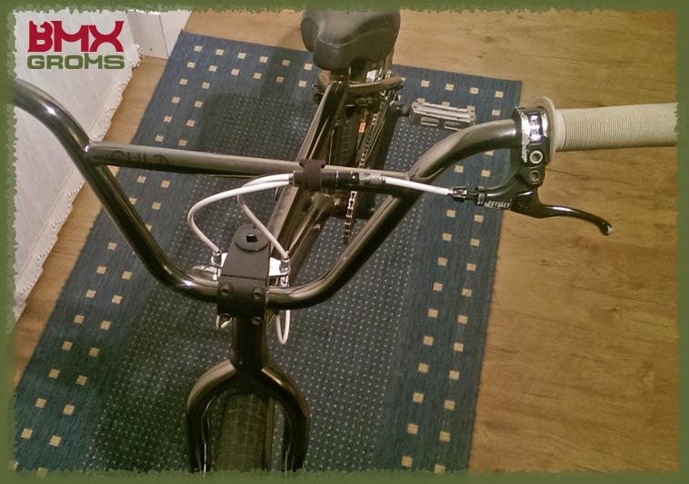 Kieran Reilly BMX Bike Check Front View