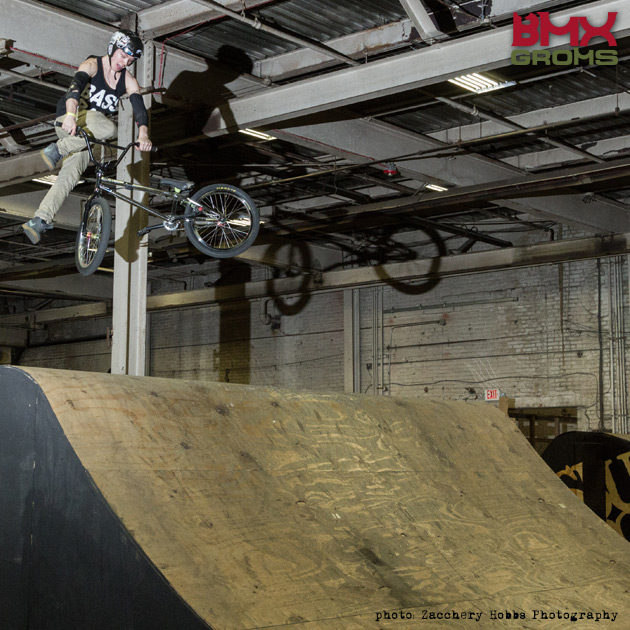 Whip air BMX Rider.