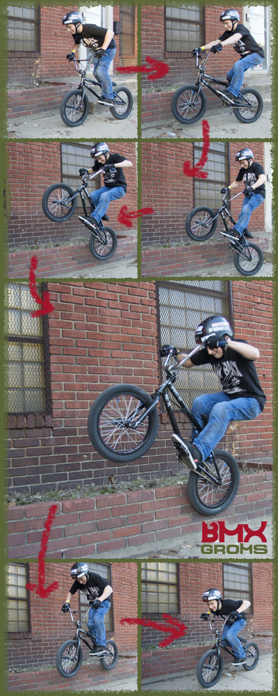Marcus Christopher Ice Pick Stall BMX Sequence Shot