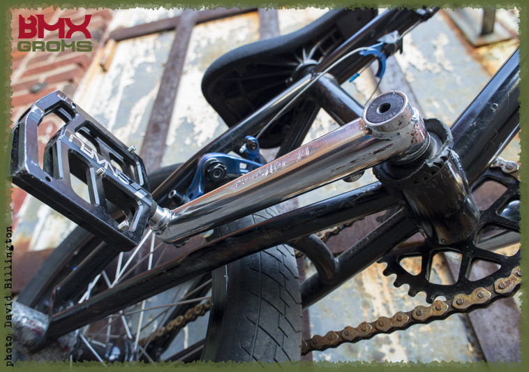Marcus Christopher 18 inch BMX Bike Check Kink Bantam Crankset