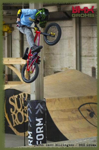 Nathan Halahan BMX Visor Buzz