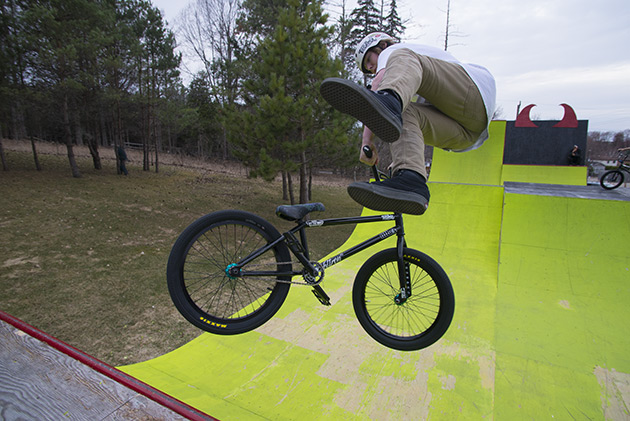 Lil Pros BMX Tour Whip Air