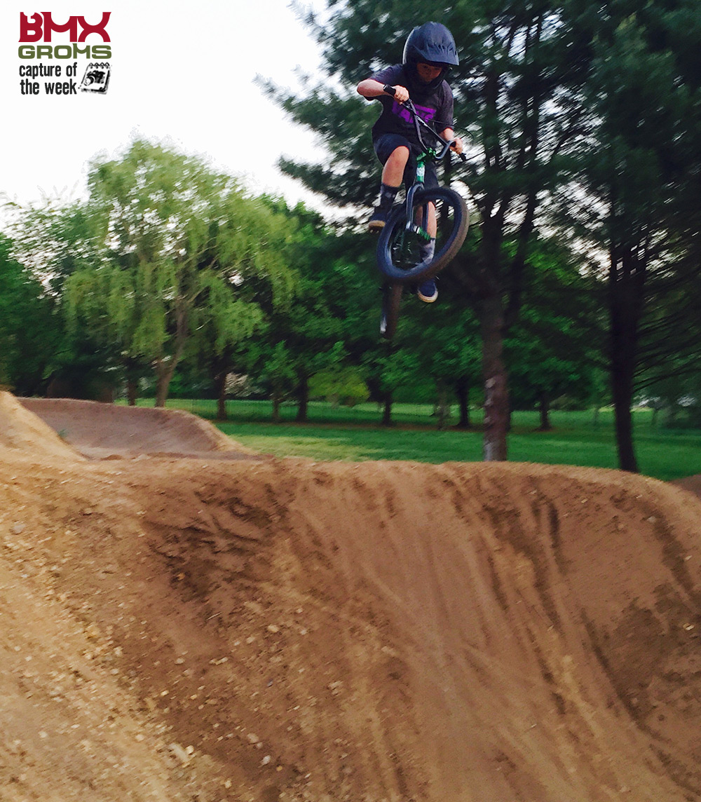 BMX Rider Aidan Timmons bmx picture of the week
