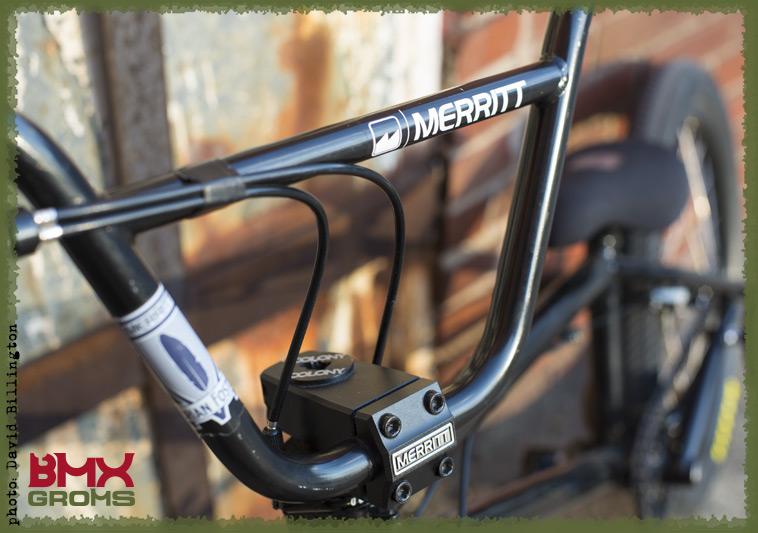 Brady Baker 20 inch BMX Bike Check Frontend Detail