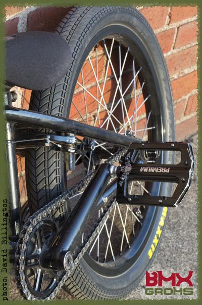 Brady Baker BMX Bike Check Back Wheel