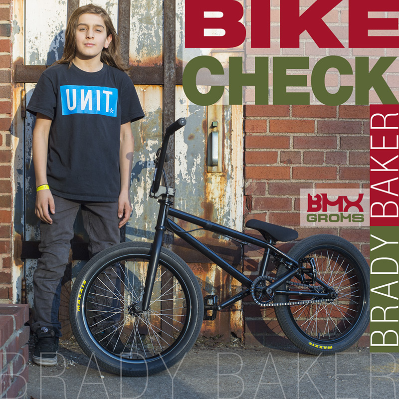 Brady Baker BMX Bike Check with BMX Groms