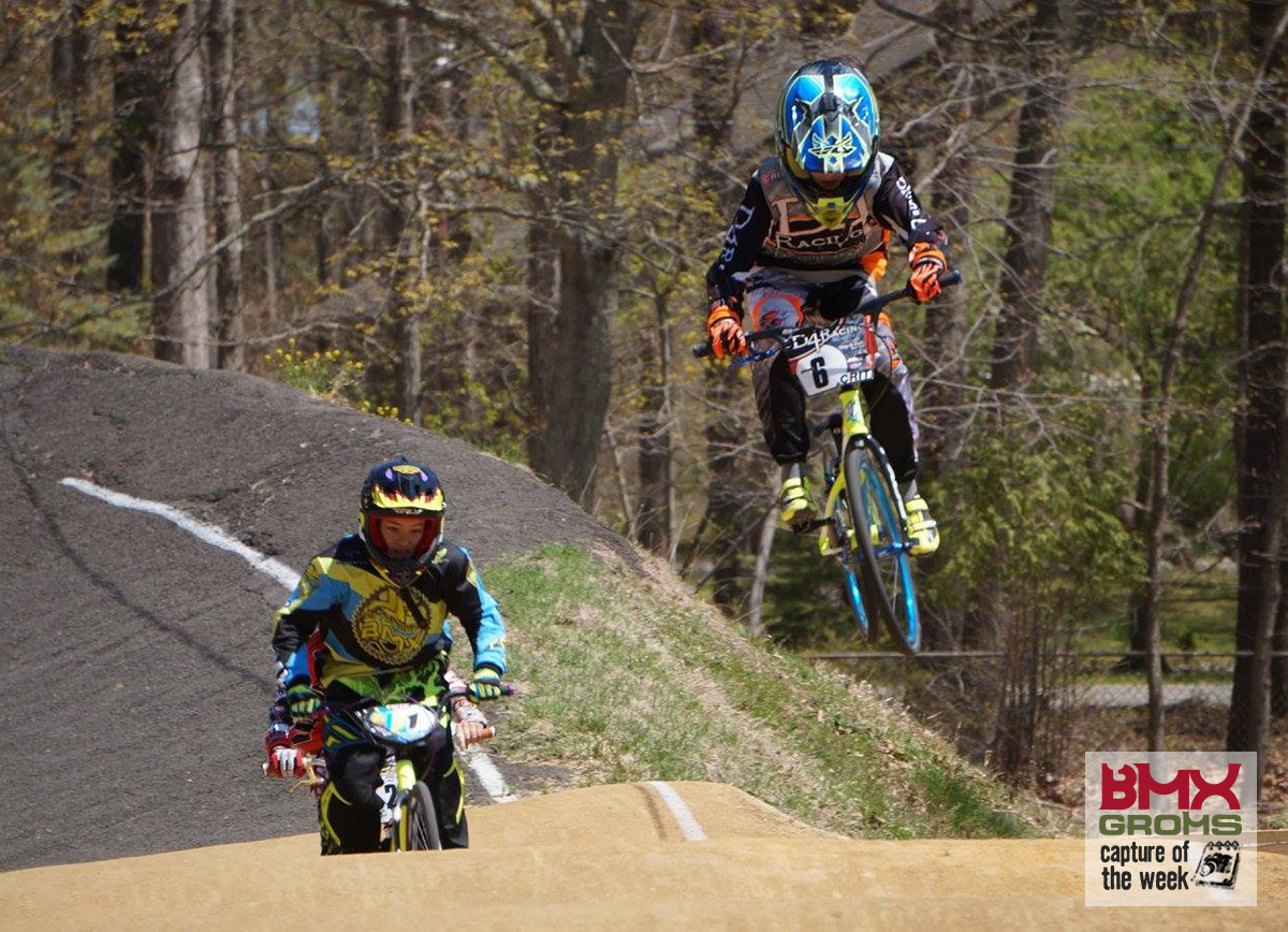 10 year old BMX Racer Justin Dunham BMX Groms Capture of the Week.
