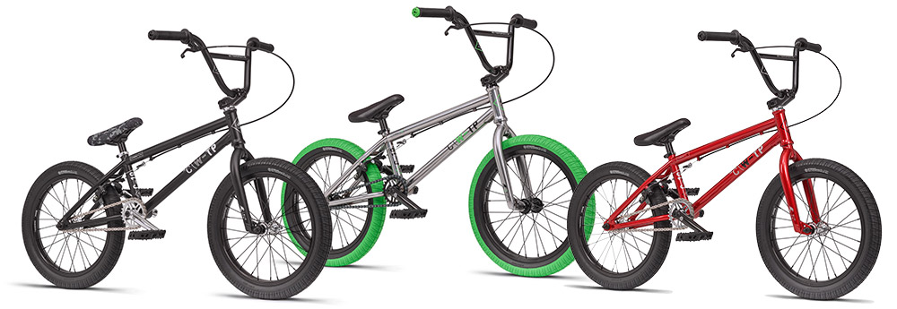"WeThePeople 2016 BMX 18"" Colours"