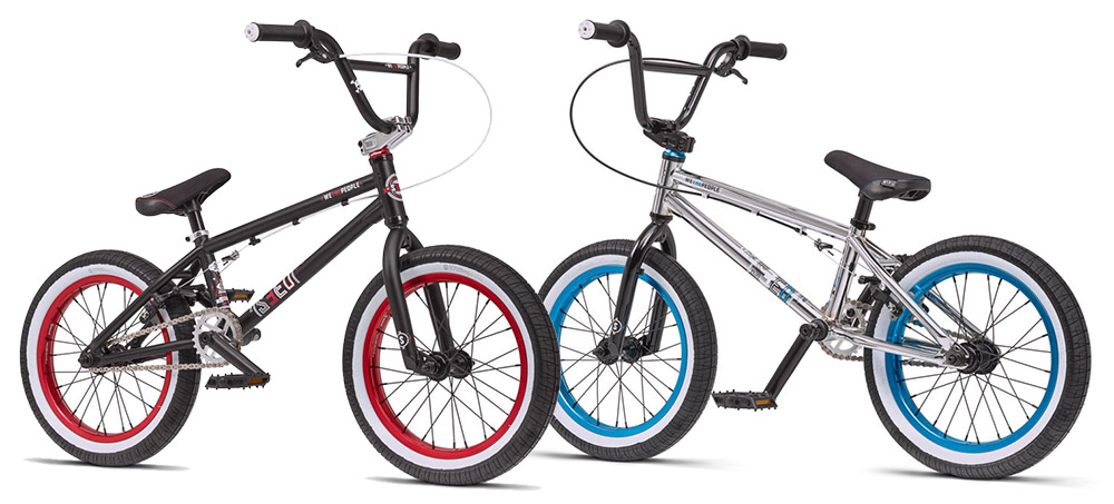 "WeThePeople 16"" BMX 2016 Colours"